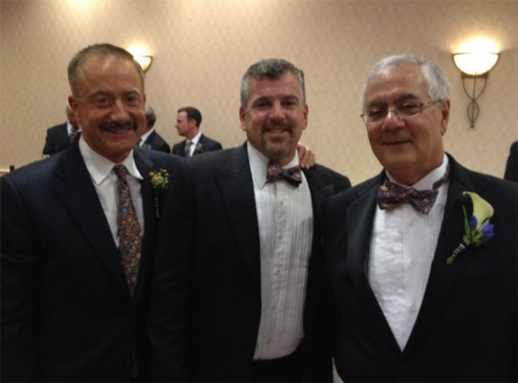Barney Frank Wedding Reception: Terry Bean and Grooms Jim Ready and Barney Frank