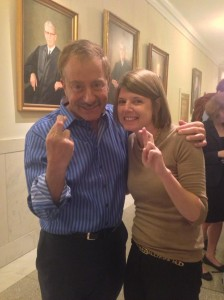 Terry Bean and Campbell Spencer