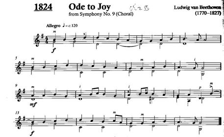 Ode to Joy Music