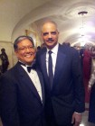 Bob Iwasaki and Attorney General Eric Holder