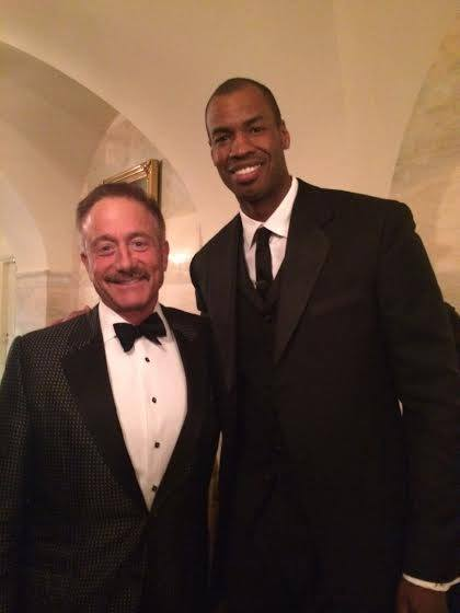 Terry Bean and Jason Collins