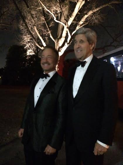 Terry Bean and John Kerry